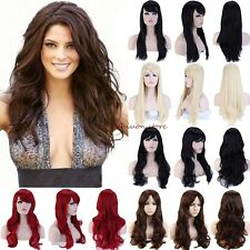 Wig Long Curly Straight Full Wig Cosplay Costume Party Fancy Dress Wholesale F87