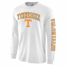 Tennessee Volunteers White Distressed Arch Over Logo Long Sleeve Hit T-Shirt