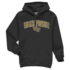 Wake Forest Demon Deacons Youth Black Campus Pullover Hoodie