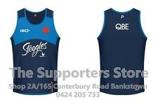 Sydney Roosters NRL 2017 Players Training Singlet Size S-3XL! IN STOCK NOW!