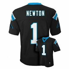 NWT NFL Carolina Panthers Cam Newton Toddler Black Jersey - 2T - 4T