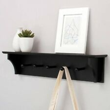 Foster 60cm Wall Shelf with 5 Pegs. Shipping Included