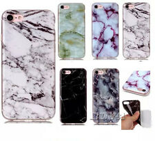 Ultra slim Soft TPU phone case Rubber Protective skin back cover marble pattern