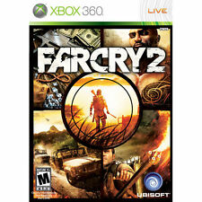 Far Cry 2 (Microsoft Xbox 360, 2008) COMPLETE! FAST FREE SHIPPING!