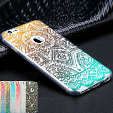 Ultra thin Slim Soft TPU Gel Rubber Back Case Cover For Apple iPhone 5 6 7 Plus
