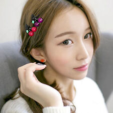 Cute Hair Clips for Women Girls Cherry Mini Hair Claws Fashion Hair Acc WB