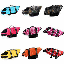 Durable Pet Dog Saver Life Jacket Vest Coat Reflective Preserver Aquatic Safety
