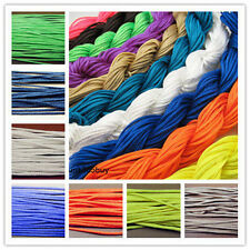 Jewelry Design Rayon Polyester braided cord string Beads bracelet necklace 2mm