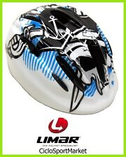 """Casco Limar Cycling Child/Girl 149 """"New Pirates Blue"""" Size M"""