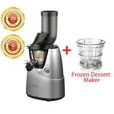 Cold Press Whole Fruit  Slow Juicer with Bonus accessories worth over $200