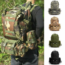 Military Bag Canvas Backpack Outdoor detachable Vintage Rucksack Combination Bag