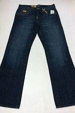 "(FREE SHIPPING)New LIFTED RESEARCH GROUP(L-R-G) ""GRASS ROOTS"" JEAN ROOT FIT BLUE"