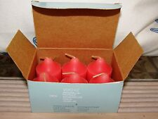 PARTYLITE WATERMELON VOTIVE CANDLES SET OF 6 in box #V06242