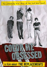 Color Me Obsessed: A Film About The Replacements DVD Region 1, NTSC