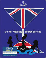 On Her Majestys Secret Service (Blu-ray Disc, Includes Digital Copy Steelbook O…