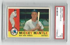 1960 Topps Mickey Mantle * New York Yankees * #350 * PSA 5 * EX