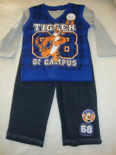 "DISNEY POOH ""TIGGER""  2 piece TOP & PANTS NWTS ""TIGGER ON CAMPUS"" NEW FOR FALL"