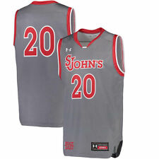 Under Armour 20 St. Johns Red Storm Gray Special Games Basketball Replica Jersey
