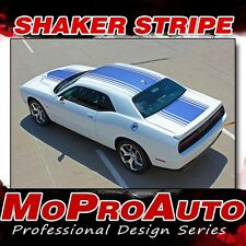 2016 2017 Challenger Hood Roof Trunk 3M Vinyl Graphic Stripes Decals SHAKER