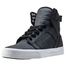 Supra Skytop Mens Trainers Black Metal New Shoes