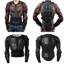 Strong Motocross Protector Mountain Bike Motorcycle Full Body Armor Jacket New