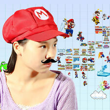Luigi Super Mario Bros Cosplay Adult Size Hat Cap Baseball Costume UW03