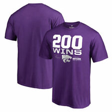 Fanatics Branded Kansas State Wildcats Purple Bill Snyder 200 Wins T-Shirt