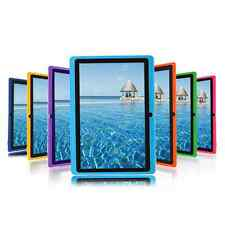 "7"" A33 Google Android 4.4 Allwinner Tablet PC Quad Core CAMERA US Purple HOT"