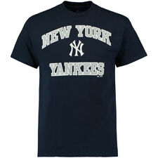 Majestic New York Yankees Navy Heart and Soul T-Shirt