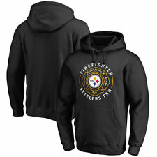 NFL Pro Line Pittsburgh Steelers Firefighter Black Pullover Hoodie - NFL