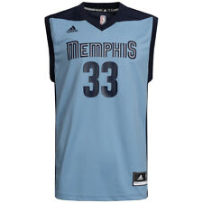 Memphis Grizzlies adidas NBA Basketball Jersey #33 Gasol H82082 2XS-2XL new