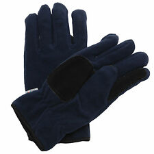 Mens Regatta Winter Warm Thinsulate? Thermal Insulated Micro Fleece Gloves Grip