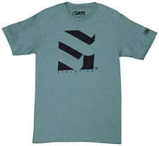 Form Athletics Serrated 2 T-Shirt (Denim Blue/Black)