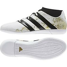 adidas Ace 16.3 Primemesh Indoor Soccer Shoes (White/Gold) AQ3422*