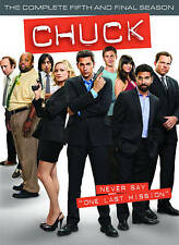 Chuck ~ Complete 5th Fifth Season 5 Five ~ BRAND NEW 3-DISC DVD SET