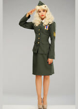 1940s Wartime Officer Ladies Costume