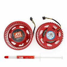 NEW For ATI Radeon HD5970 HD4870 HD5850 HD5870 HD4890 Video Card Fan Wholesale