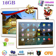 10'' INCH HD Dual SIM Smartphone Android 16GB ROM 3G GPS WIFI Tablet PC Phablet