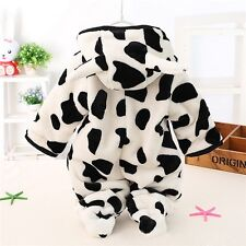 Newborn Baby Girl Boy Warm Clothes Romper Winter Outwear Outfits Sets 3-18 Month