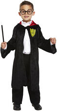 BOYS GIRLS CHILD MAGIC WIZARD KIDS FANCY DRESS ROBE OUTFIT COSTUME 4-12 YEARS