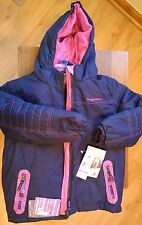 Rugged Bear Kids Girls' Systems 3in1 Winter Coat with Plaid Inner Jacket Size 6