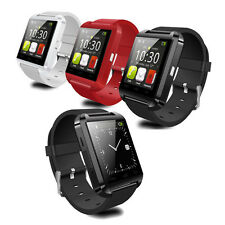 Unlocked Bluetooth Smart Watch Wrist Phone Mate Camera For IOS Android Samsung