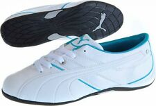 Womens Puma Jet Cat WN'S Trainers Leather White UK Sizes 3.5 - 7 NEW