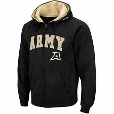 Stadium Athletic Army Black Knights Black Arch & Logo Full Zip Hoodie
