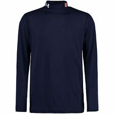 Under Armour Auburn Tigers Navy Lightweight Long Sleeve Mock Performance T-Shirt