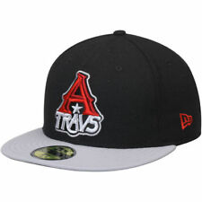 New Era Arkansas Travelers Black/Gray Authentic Road 59FIFTY Fitted Hat - MiLB
