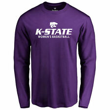 Kansas State Wildcats Purple Kansas State Women's Basketball Long Sleeve T-Shirt