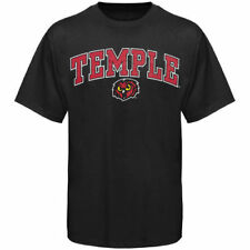 Temple Owls Youth Arched University T-Shirt - Black