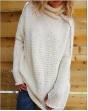 Female Oversized Batwing Sleeve Knitted Sweater Tops Loose Cardigan Outwear Coat