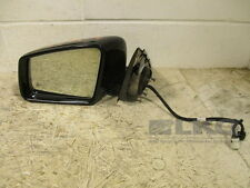 2014 Mercedes-Benz E Class E250 E300 E350 Black Driver Side View Door Mirror OEM